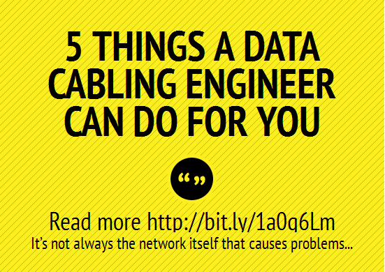 5 Data Cabling Engineer Tips