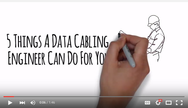 New YouTube Video - Why Hire Professional Data Cabling Engineers For UK Jobs?
